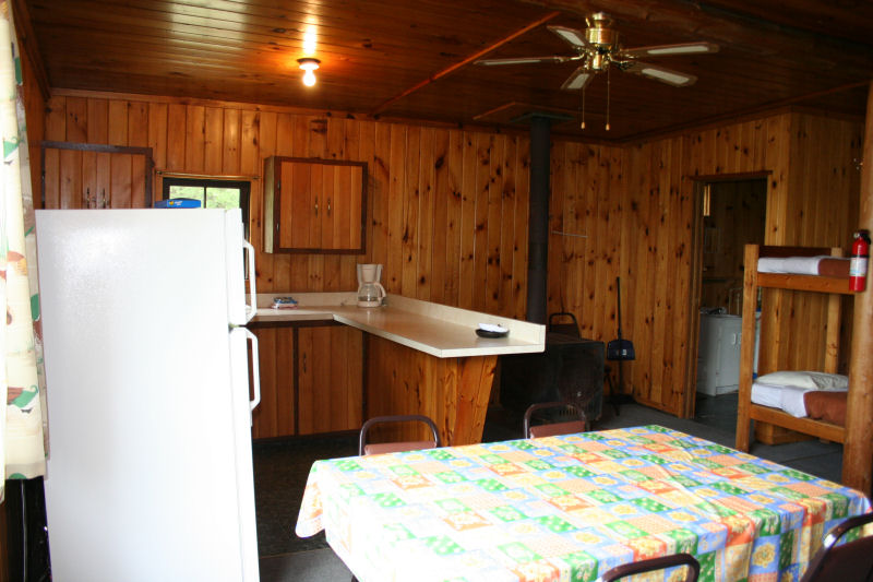 Cabin 7 living area