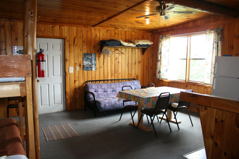 Cabin 6 living area