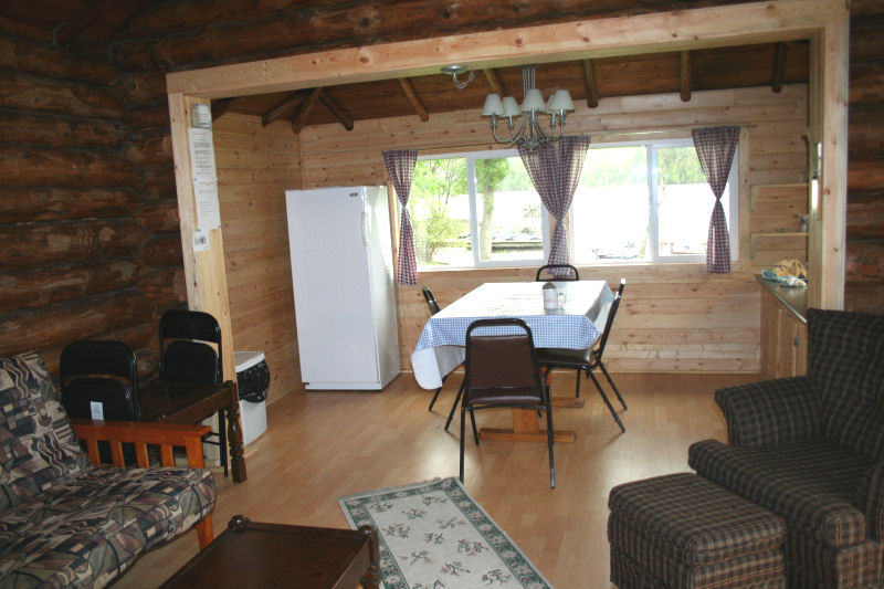 Cabin 3 living area